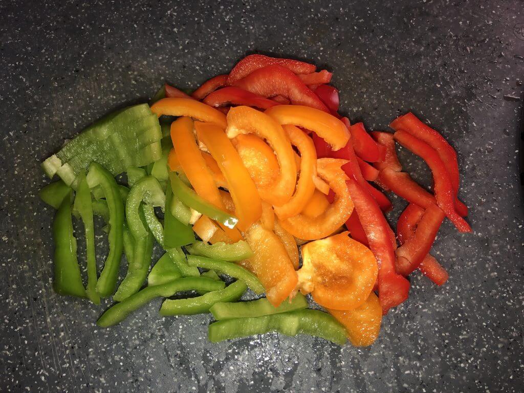 ירקות חתוכים למוקפץ