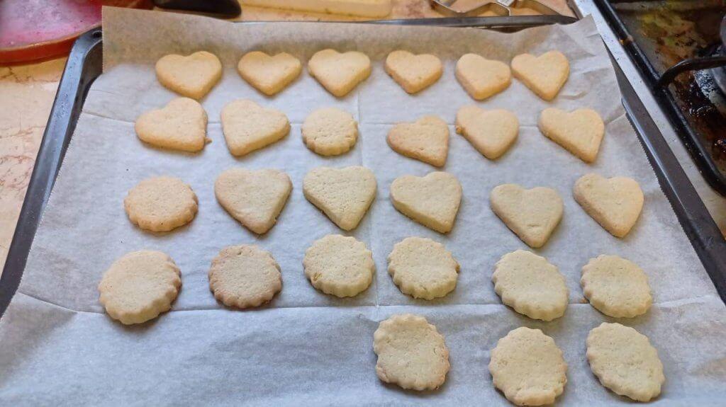 עוגיות חמאה שילדים אוהבים